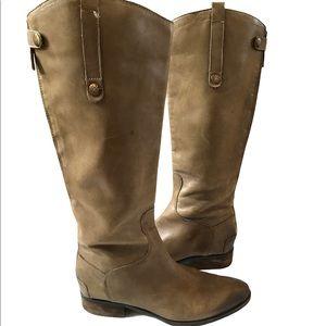 Sam Edelman Penny Riding Boot Size 9 Tan